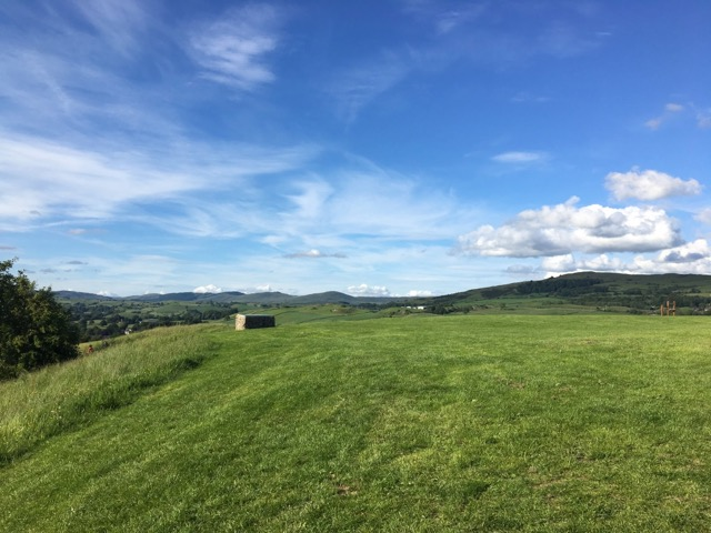 Kendal castle hill