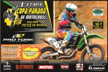 MOTOCROSS EM KALORÉ - COPA PARANÁ DE MOTOCROSS