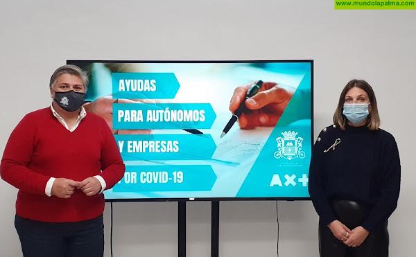 Más de medio millón de euros destinados a comerciantes y autónomos de Los Llanos de Aridane