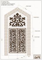 ornamen+kuningan+pintu+masjid