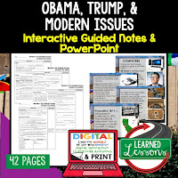 American History Guided Notes, Interactive Notebook, Note Taking, PowerPoints, Anticipatory Guides
