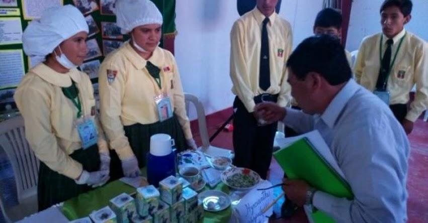 FONDEP: Escuela LIE de Cajamarca es ganadora en concurso nacional Eureka 2018 - www.fondep.gob.pe