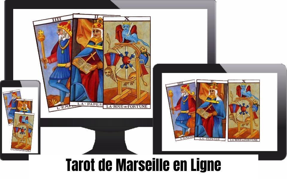 Le Tarot de Marseille consultable en ligne sur pc, tablette et smartphone