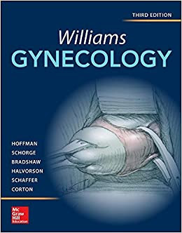 Williams Gynecology 3rd Edition pdf free download