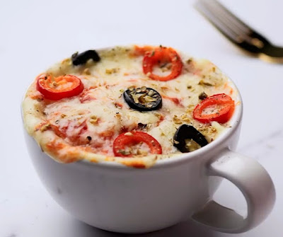 How to make mug pizza at home