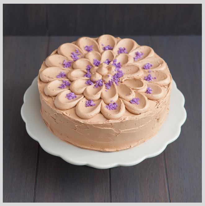 pynt til sjokoladekake