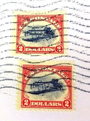 The Inverted Jenny $2 stamp