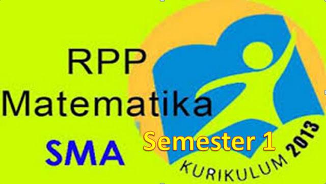 RPP K13 Matematika SMA/MA Kelas X