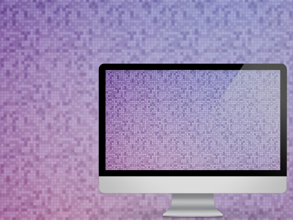 Pixel Matrix Wallpaper available