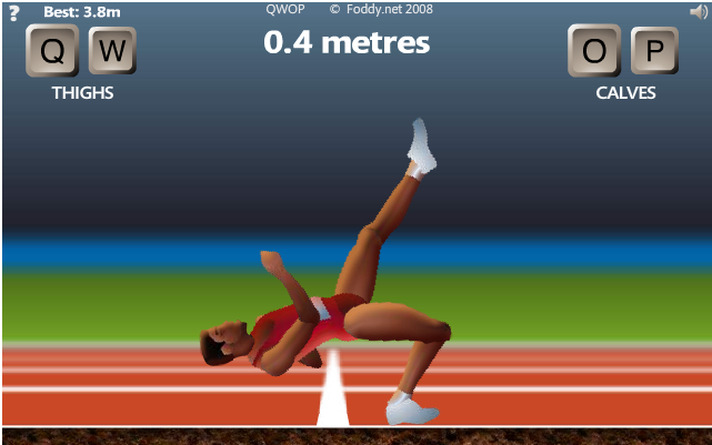 Slow frog genetically engineered qwop part 1 wrong way ccuart Image collections