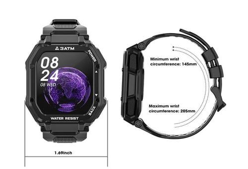 Mingdaln Fitness Tracker Smart Watches for Men Women