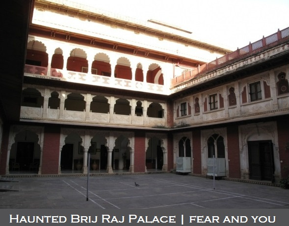 check the 4 most haunted places in Jaipur circle