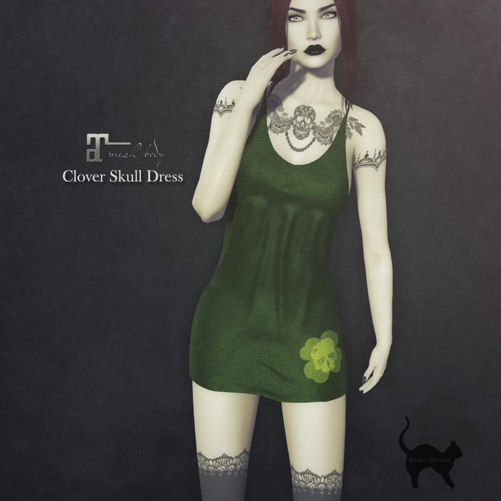 Secret Oktober: Clover Skull Dress