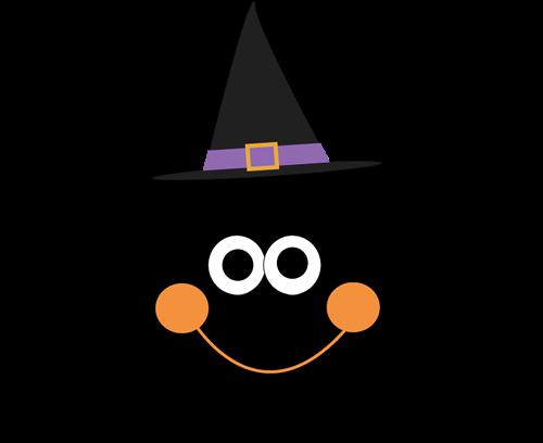 Araña con sombrero de bruja