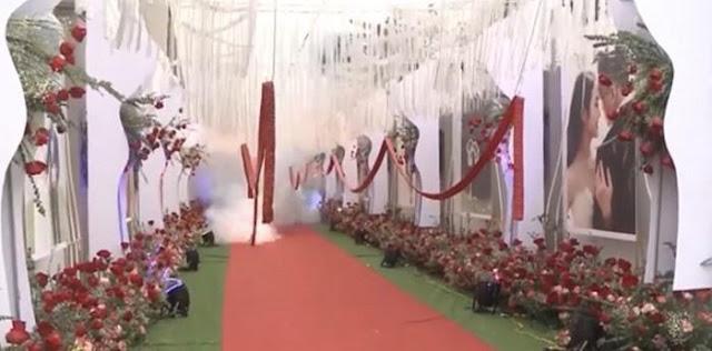 Khởi tố vụ đốt pháo nổ trong đám cưới tại Sóc Sơn để điều tra làm rõ