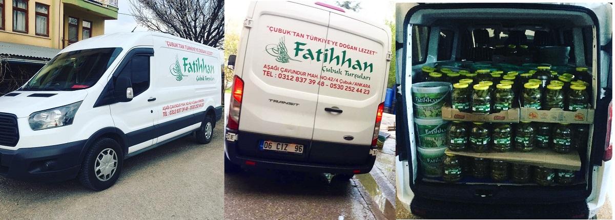 FatihHan Turşuları Şipariş Ver
