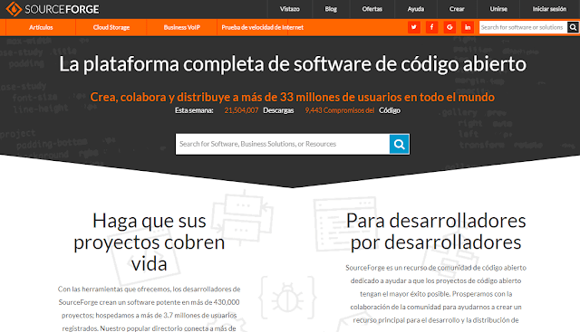 SourceForge alternativa a GitHub - El Blog de HiiARA
