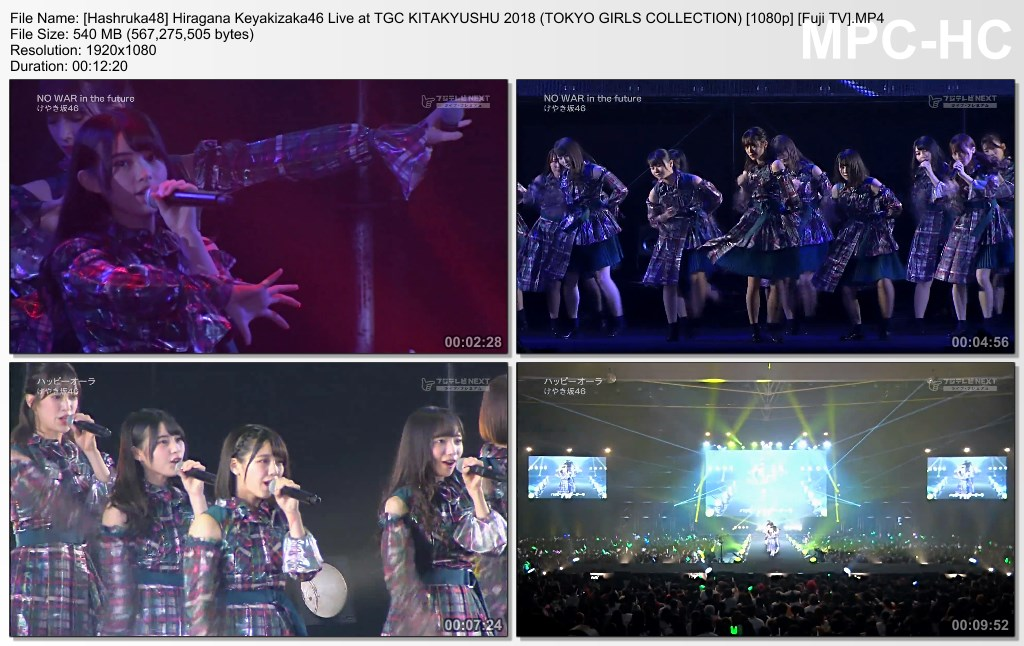 Hiragana Keyakizaka46 Live at TGC KITAKYUSHU 2018 (TOKYO