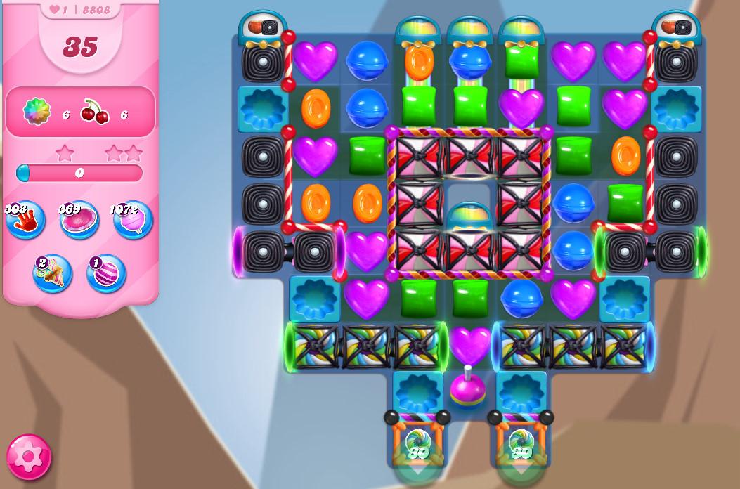 Candy Crush Saga level 8808