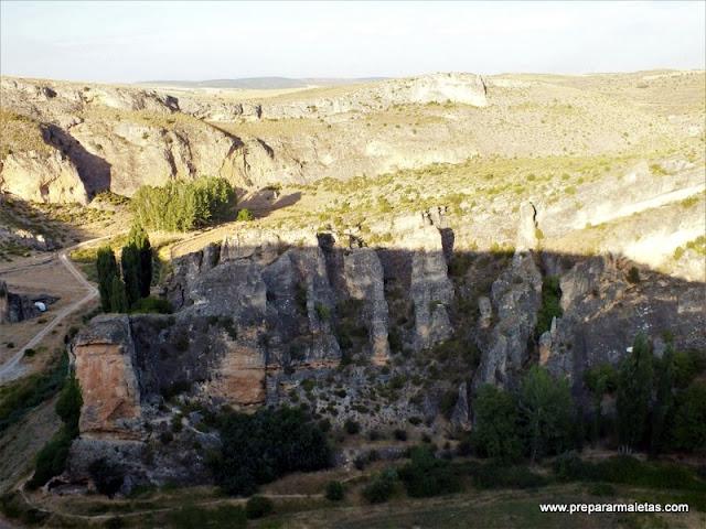 ruta por las hoces de Valeria en Cuenca