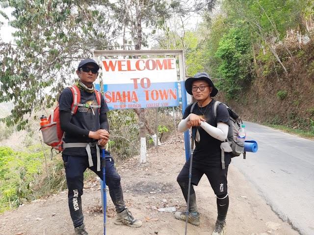 Mizoram-a kea kal thui ber pahnihin Siaha thleng!