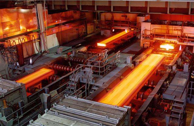 Nhà máy thép Việt Nam Nghi Son Steel, một trong những đơn vị sản xuất của Vietnam American Steel (VAS)