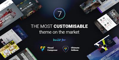 The7 v4.2.1 – Responsive Multi-Purpose WordPress Theme Free Download