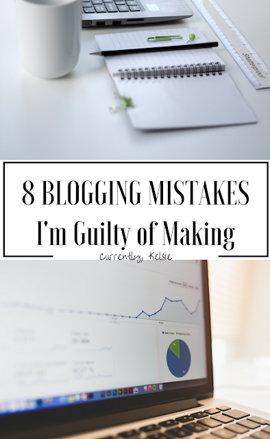 Blogging Mistakes I'm Guilty of Making