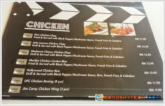 Menu CHICKEN Pak Uda Kitchen & Grill