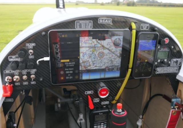 Skycraft SD-1 Minisport cockpit