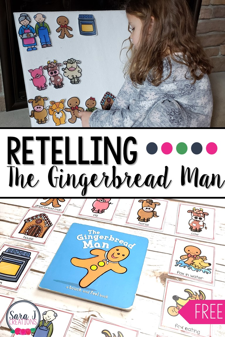 photograph about Free Printable Sequencing Cards named Retelling The Gingerbread Person with Sequencing Playing cards Sara J