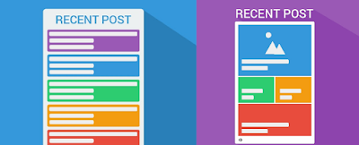 cara membuat recent post berdasarkan label