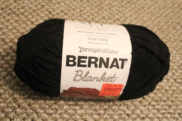 Bernat Blanket, yarn, crochet