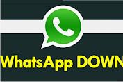 Whatsapp Down Hari Ini, Instagram dan Facebook Juga