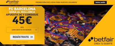betfair supercuota Mallorca v Barcelona 14-3-2020