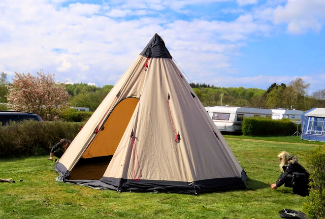 The 6 person Robens Klondike Tipi