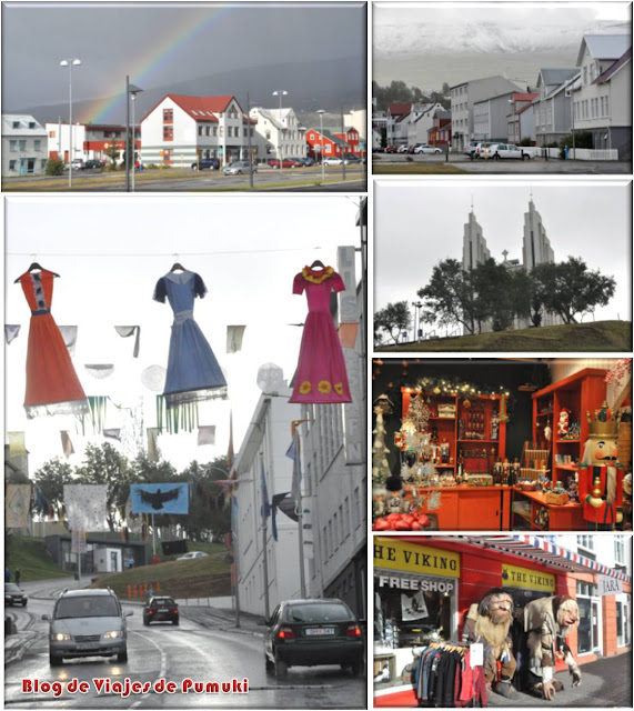 Akureyri es la segunda ciudad de Islandia y parada de cruceros. Blog de viajes a Islandia