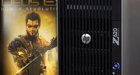 HP Z Workstations and Eidos Montreal Game Development | THE