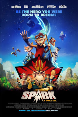 Spark A Space Tail 2017 DVD R1 NTSC Latino