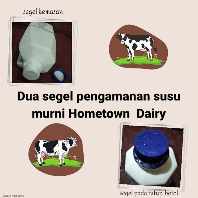 Cara membedakan susu murni asli