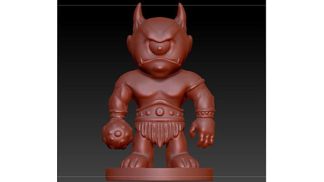 cyclops 3d model free download obj