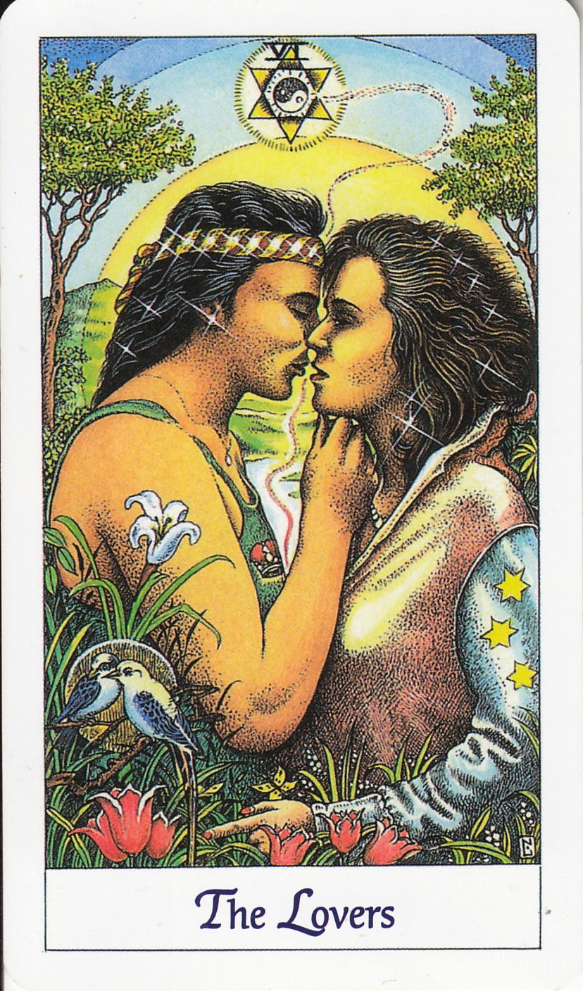 Rowan Tarot: It's Not About The Kissing -- Lovers In