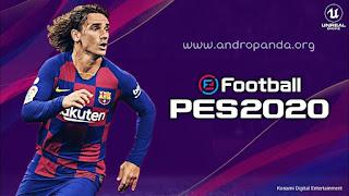 تحميل لعبة كرة القدم بيس PES 2020 للاندرويد (آخر اصدار)