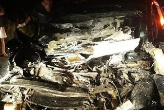 Acidente envolvendo três veículos deixa uma pessoa morta e quatro feridas na Paraíba