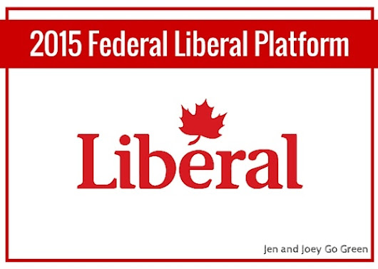 1 2015 Election - Liberal Party of Canada Platform