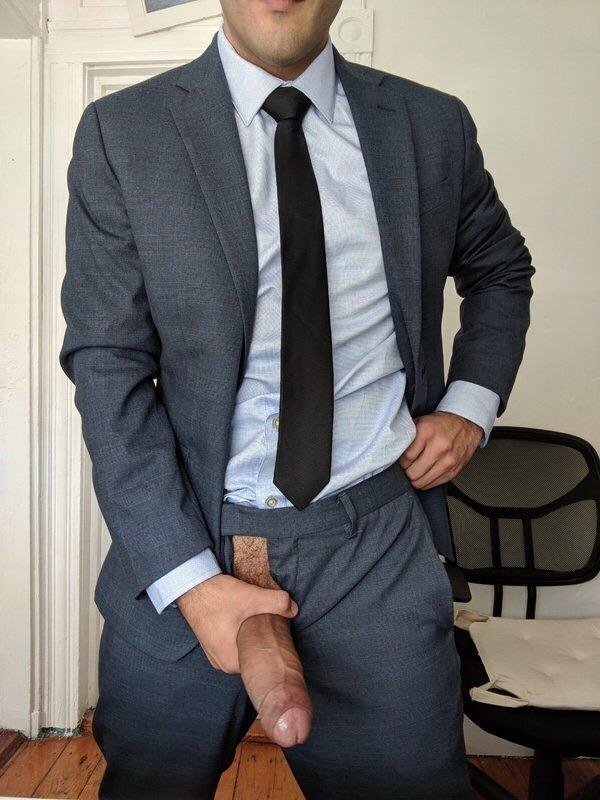 Older Business Men In Suits