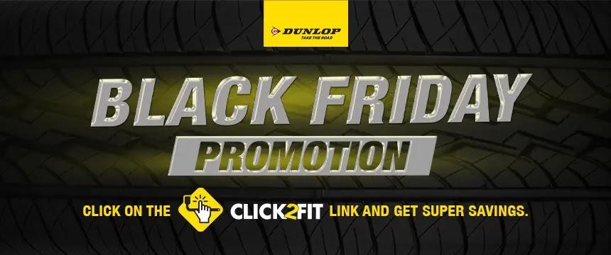 Dunlop Tyres Black Friday Deals