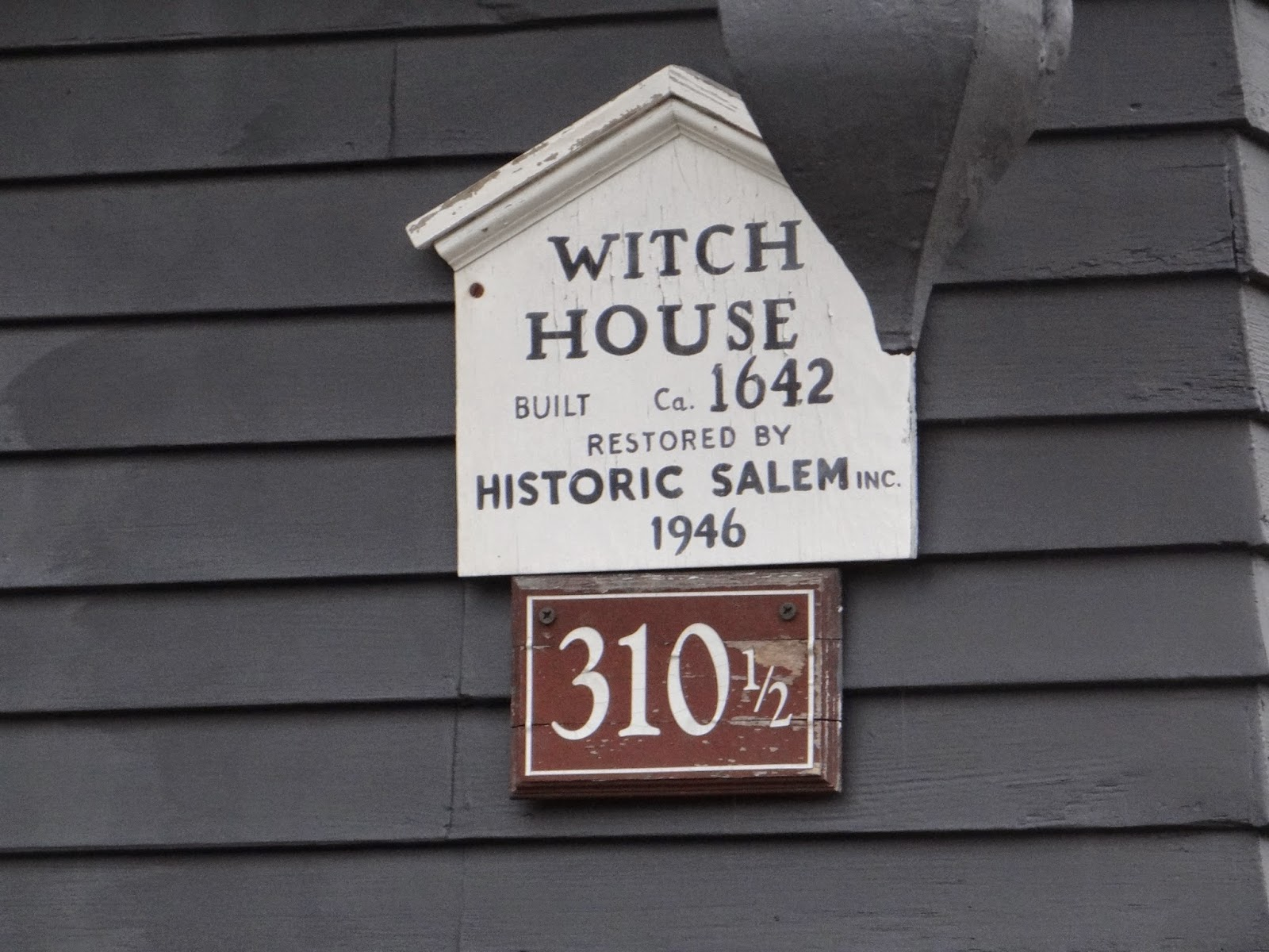 The Witch House Salem Massachusetts