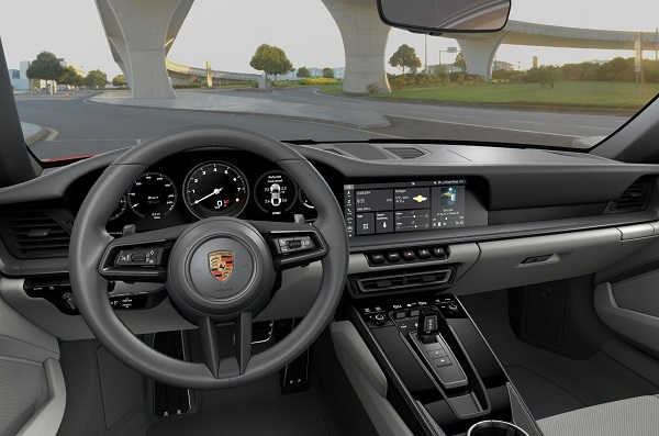 Interior Porsche 911 Carrera 4