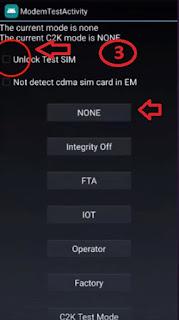 shortcut unlock q710p
